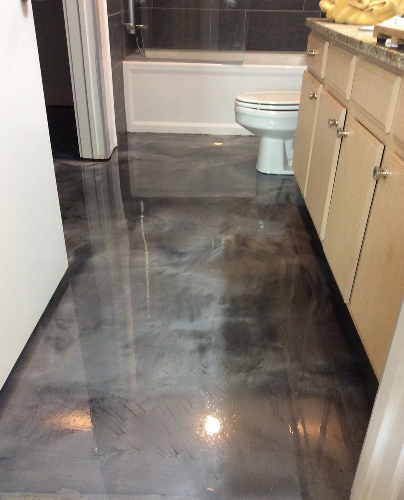 Epoxy Grout For Bathrooms: Epoxy Floor Coatings Calgary