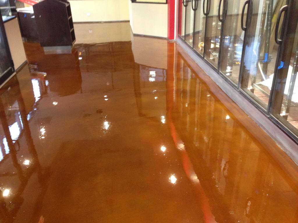 Epoxy Paint For Wood : Epoxy floor coatings calgary garage solo
