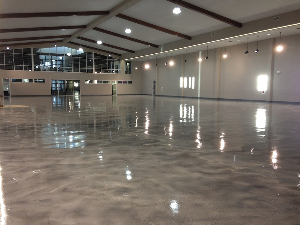 Epoxy floor coatings calgary garage epoxy solo epoxy for Industrial flooring for homes